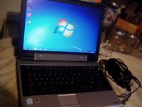 Toshiba Equium M50 Laptop: 60GB :Dual Core 1.40Ghz :1GB RAM :Win 7 : Activated Office 2007