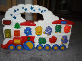 Chicco musical train toy
