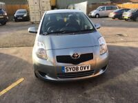 Toyota Yaris 1.3 petrol silver mot until 11/3/18 full service history one former owner