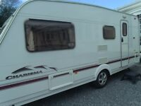 swift charisma 565 2004 4 berth touring caravan with extras