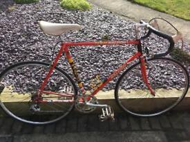 Team Raleigh road bike 1970s