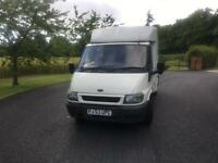 Ford transit Luton box truck ex bt ideal for many purposes