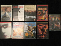 clearing dvd collection movies dvd £1 each films kids action titanic mummy pirates of the carribean