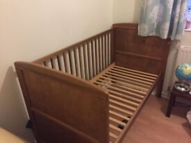 Kiddicare cot bed & toddler bed - V good condition