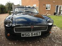 MGB ROADSTER WITH A DIFFERENCE!