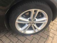 """Vauxhall insignia SRI Alloys 18"""" with expensive Tyres"""