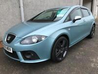 SEAT LEON FR TDI , 2009 **ONLY 41000 MILES + HISTORY ** FINANCE AVAILABLE ** YEARS MOT , WARRANTY