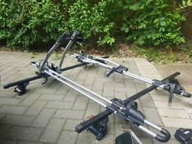 Thule bike bicycle roof bars and carriers