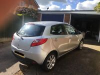 Mazda 2 - silver, automatic, low milage, £3999