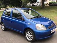 Toyota Yaris 1.4 Diesel £30 Tax/Year CDX Model A/C, Like Ford Fiesta Corsa