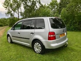 VW Touran 1.9 TDI 7 seater - Timing belt and water-pump just completed