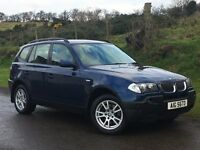 2005 X3 2.0 DIESEL SE 2 OWNERS LEATHER 126326 MILES 4x4 MOTD SERVICE HISTORY EXCELLENT CONDITION