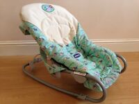 Chicco Relax and Play Baby Bouncer Rocker