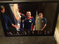 Signed photo of Phil Taylor