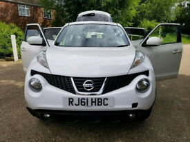 2011 61 NISSAN JUKE 5 DOORS - AUTOMATIC - LOW MILES - Full leather seats