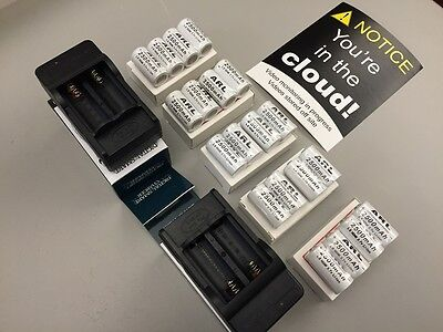 Rechargeable batteries kit for Netgear Arlo Security Camera - 20 battery pack