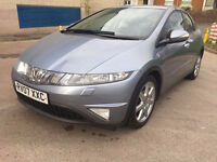 HONDA CIVIC 1.8 SPORT I-VTEC 5d 139 BHP 1 PREVIOUS OWNER FULL SERVICE RECORDS, 8 STAMPS
