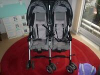 Candy Double buggy with accessories. good condition