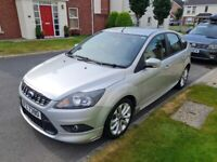 2010 FORD FOCUS 1.6 ZETEC S, ONLY 68K, LONG MOT, GREAT HISTORY IN EXCELLENT CONDITION! NOT VAUXHALL