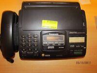 Panasonic combined Answer and Fax Machine