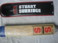 STUART SURRIDGE ORIGINAL JUMBO BAT WITH SUPER COVER, UNIQUE TOE REINFORCEMENT WITH COVER