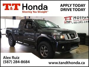 2013 Nissan Titan PRO-4X *No Accidents, Only One In Alberta*