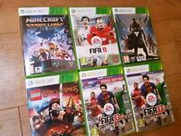 Selection of 6 XBOX 360 Games