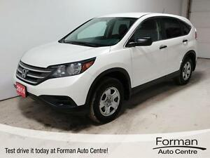 2014 Honda CR-V LX - Heated Seats | Remote Start | Local Trade