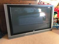 LG 42PC1 DV 42in TV