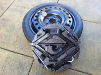 vauxhall insignia spare wheel