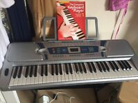 Never used Pitchmaster 61 key electronic keyboard for sale