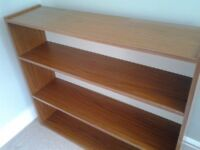 Bookcase - Wood Effect, Good Quality & condition. Collect Kirkby in Ashfield NG17