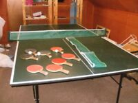 Table Tennis Table Butterfly Make (Roll-away, Fold-away)