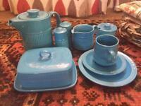 Lancastrian pottery tea or coffee set