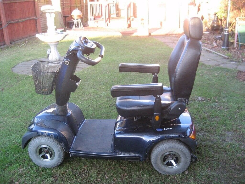 Invercare Comet heavy duty scooter 8mph up to 25stone