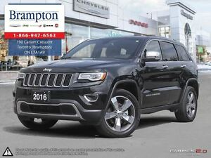2016 Jeep Grand Cherokee Limited | 4X4 | EX DEMO | low kms | NAV