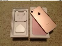 Iphone 7 rose gold 32GB EE