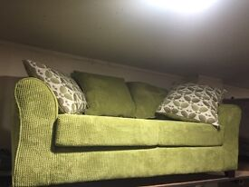 New 3 seater green sofa suite BARGAIN bespoke custom made cookstown area!!!