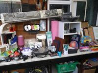 various household useful items for sale,photo frames,curtain rail,books etc.. etc.. please read more