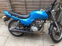 Lithan 125 motorbike