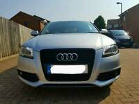 Audi a3 black edition (FREE MOT FOR LIFE)