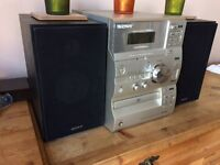 Sony FM / AM Radio with CD Player and AUX output