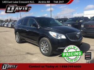 2017 Buick Enclave Leather LTHR/HTD SEATS, ALL WHEEL DRIVE, D...