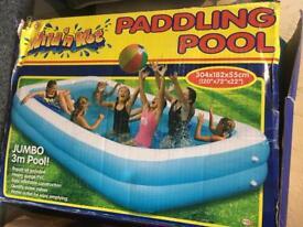 Paddling Pool 3m long