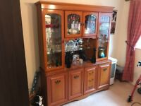 Dining Table/Chairs, Dresser, 2/3 Display Cabinet, TV Stand, Coffee Table - Matching, Perfect Cond