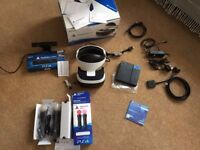 Playstation VR, move controllers, playstation camera