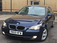 BMW 520d 2009 manual sat nav leathers high spec special edition cheap car