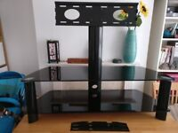 Cantiliever TV stand for 50 inch television