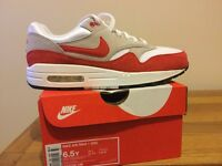Nike Air Max 1 trainers. Size 6. Genuine Nike, still in box. Brand new. Unwanted gift. £25