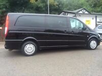 Mercedes-Benz Vito BlueEFFICIENCY. 9 seater with front/ rear HD camera and parking sensor, full PCO